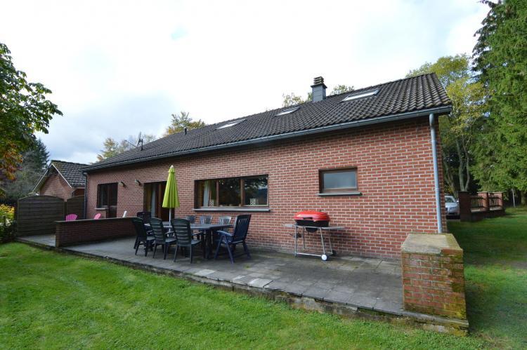 Vakantiehuis La Canadienne - België - Ardennen - 10 personen - terras