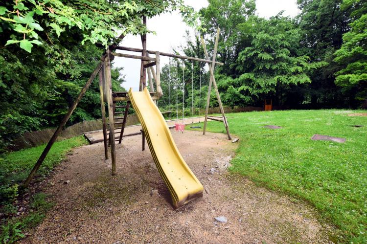 Chalet Le Nichet - België - Ardennen - 20 personen - omheinde tuin