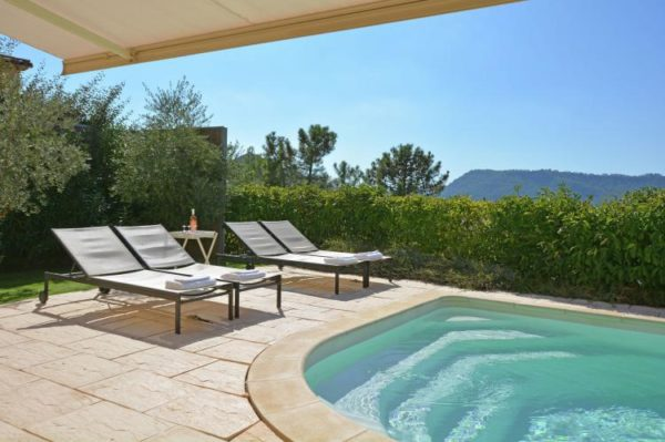 Villa la Parure - Frankrijk - Côte d'Azur - 6 personen - omheinde tuin