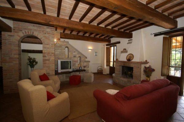 Luxe villa umbertide - Talie - Umbrië - 7 personen - woonkamer