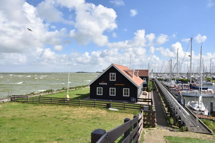 Vakantiehuis Hindeloopen - Nederland - Friesland - 2 personen - omheinde tuin