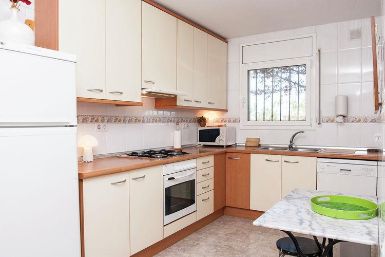 Villa Capella 34 - Spanje - Costa Brava - 8 Personen - keuken