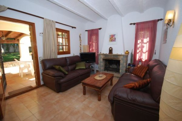 Villa Casa Martin - Spanje - Costa Brava - 6 Personen - woonkamer