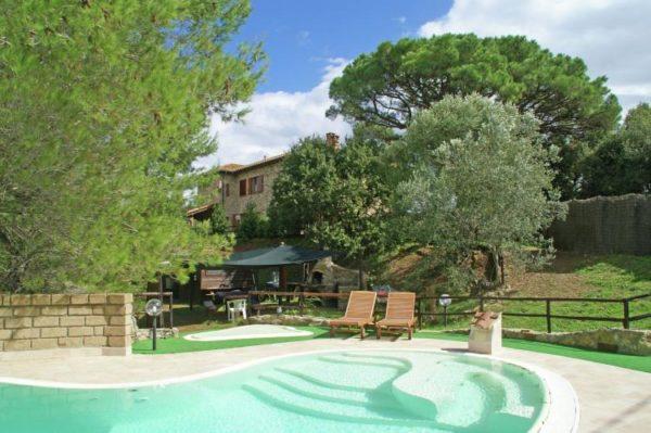 Villa Suvereto - Italië - Toscane - 10 personen - zwembad
