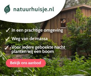 omheinde vakantiehuisjes in de natuur banner
