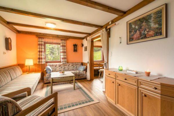 Vakantiehuis Ferienhaus Bauer - Oostenrijk - Karinthië - 8 personen - woonkamer