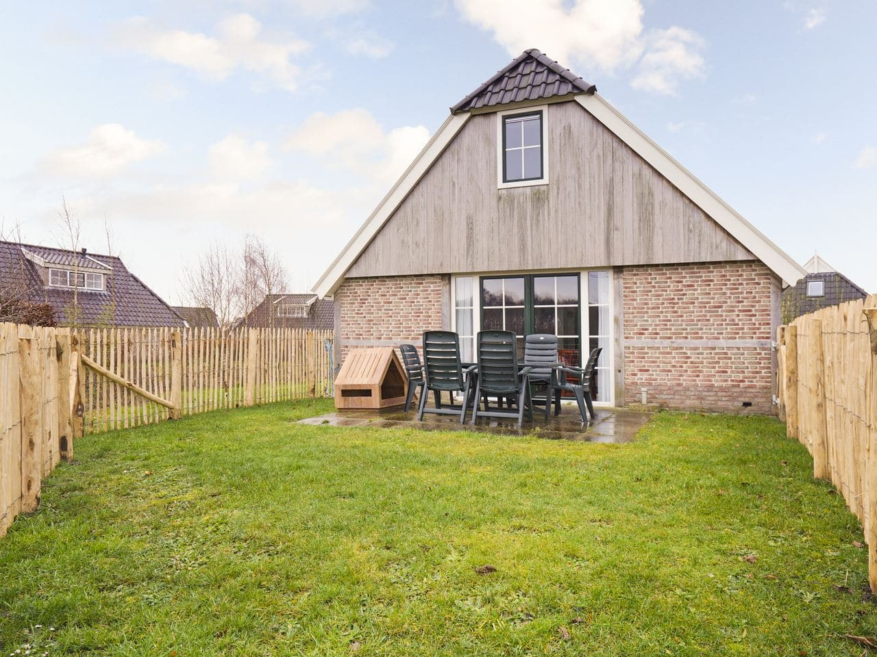 Hondenbungalow Orveltemarke 6CD - Nederland - Drenthe - 6 personen - omheinde tuin