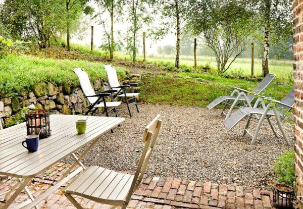 Natuurhuisje in Hombourg 35860 - België - Luik - 4 personen - omheinde tuin