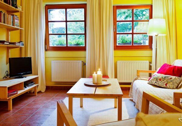 Natuurhuisje in Hombourg 35860 - België - Luik - 4 personen - woonkamer