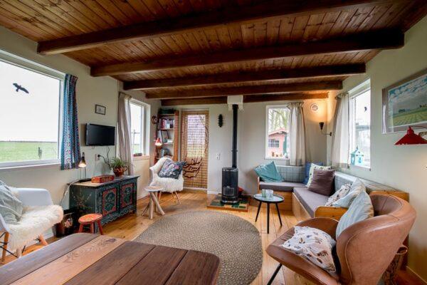Natuurhuisje in Mirns 31433 - Nederland - Friesland - 5 personen - woonkamer