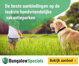 bungalowspecials met omheinde tuin banner